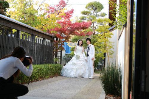浜松和風結婚式の花屋杢兵衛でのフォトウェディングの様子をご紹介。
